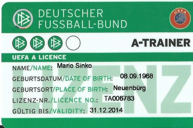 Dfb B Lizenz